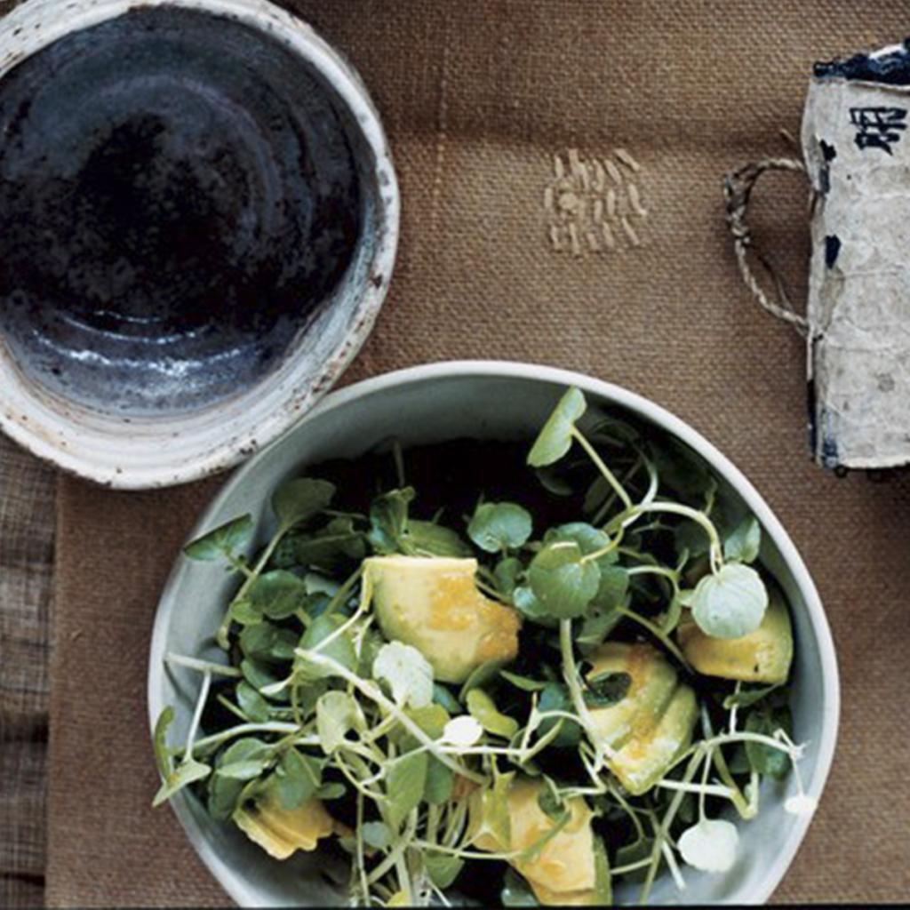 avocado and watercress salad lifesum