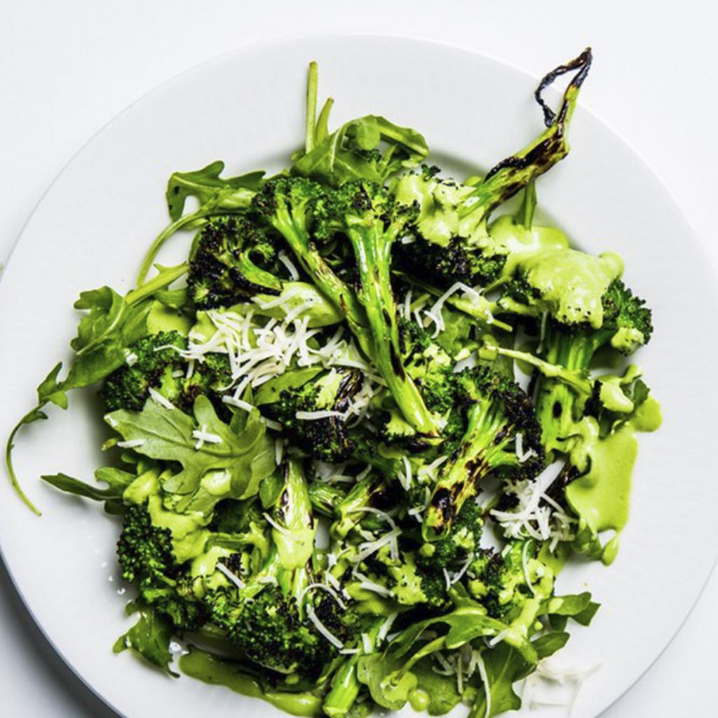 grilled broccoli and arugula salad lifesum