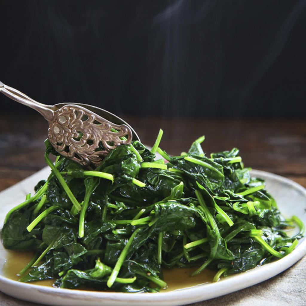 sautéed garlic and spinach lifesum