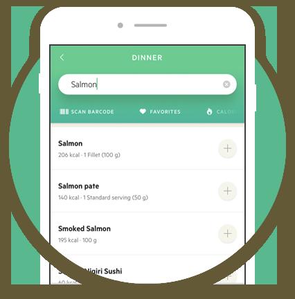 Lifesum food databse